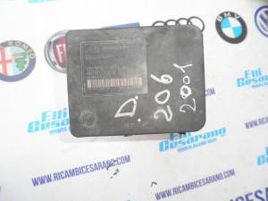 Centralina ABS  Diesel peugeot 206 2001