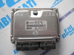 Centralina motore A5  2.5 diesel  2003
