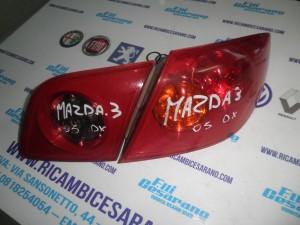 Stop Destro  Mazda 2003 Completo