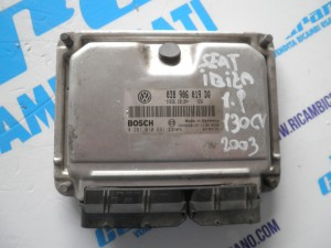 Centralina motore Seat Ibiza  1.9 130 cv  2003