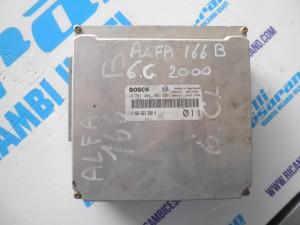 Centralina motore Alfa 166   6 CILINDRI BENZINA  2000